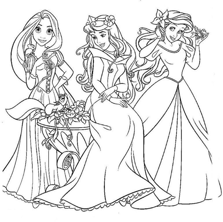 princesas-disney-dibujos-para-descargar-gratis