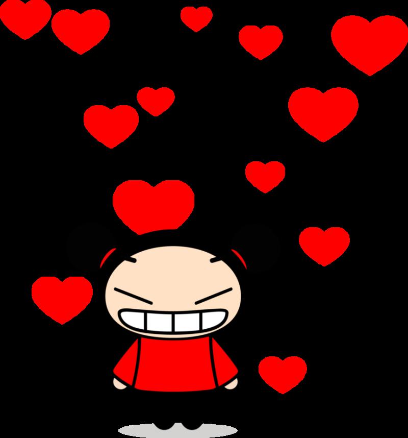 pucca-corazones-enamorada-imagenes
