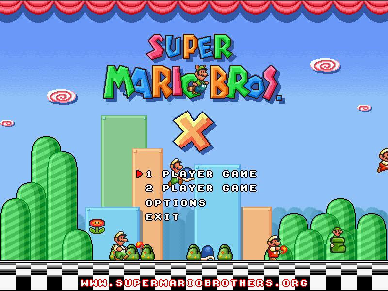 Super Mario Bros X Gratis Pc Download Free