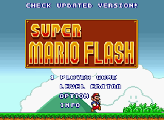 super mario bros online flash