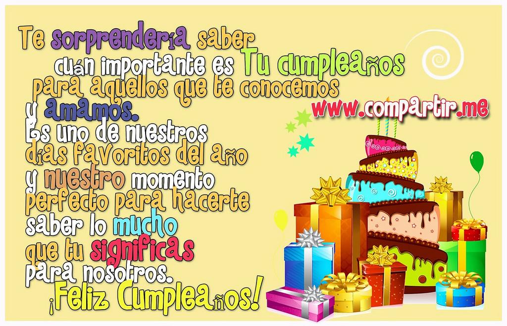 Imágenes de Cumpleaños, tarjetas cumpleaños bonitas gratis