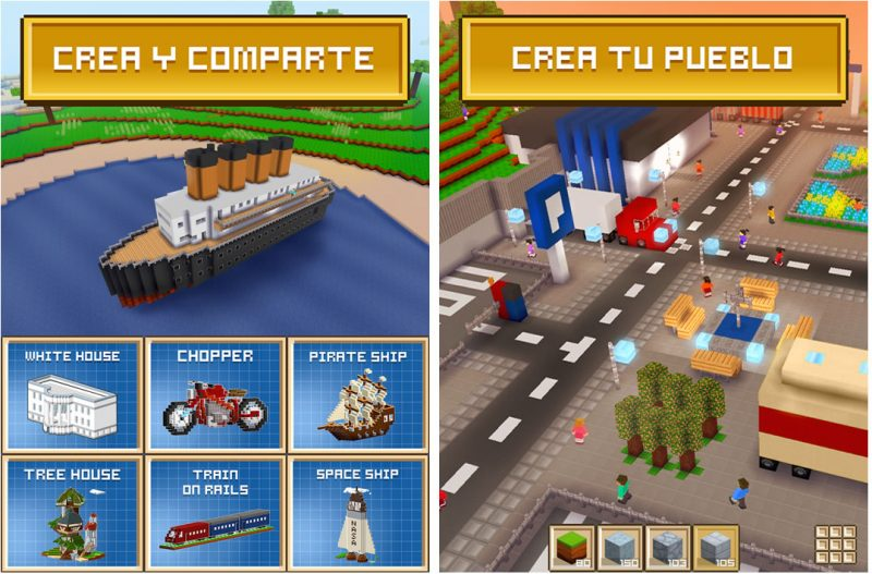 Block-Craft-3D-android-tablet