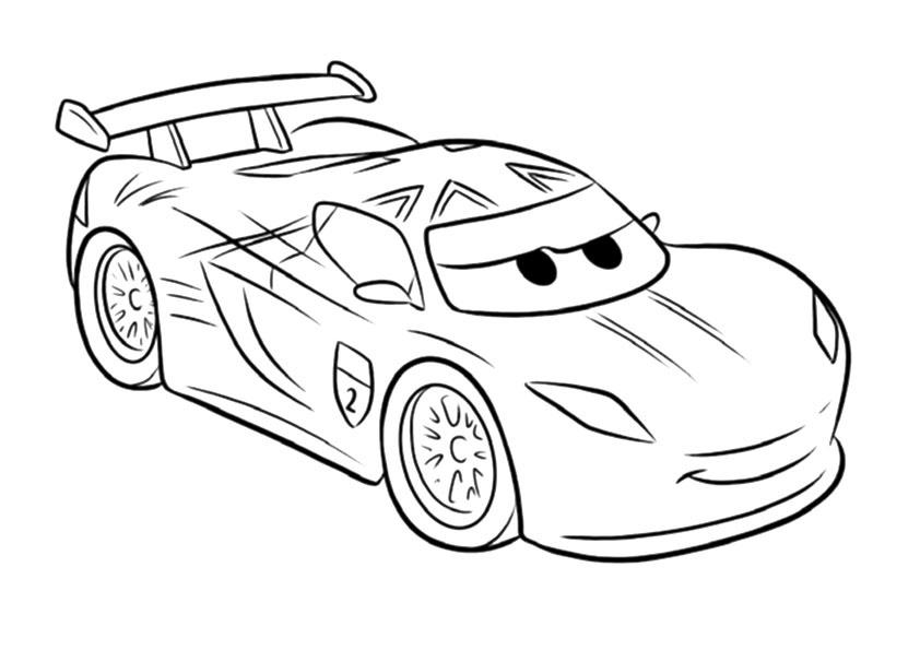 Dibujos Para Imprimir: Dibujos De Cars Para Colorear E Imprimir Gratis
