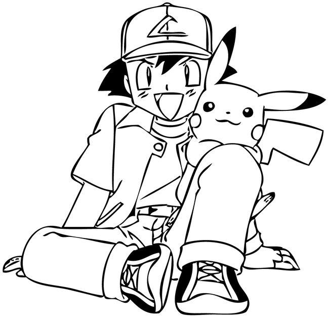Dibujos de Pokemon para colorear (1)