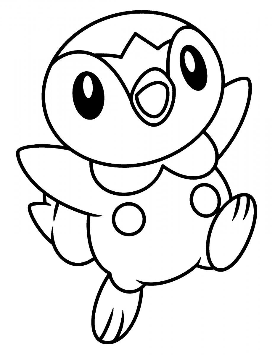 Dibujos para colorear de pokemon for Figuras para calcar