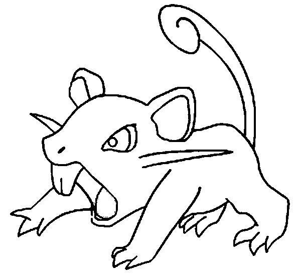 Dibujos de Pokemon para colorear (8)