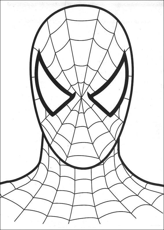 Dibujos de Spiderman para colorear 1