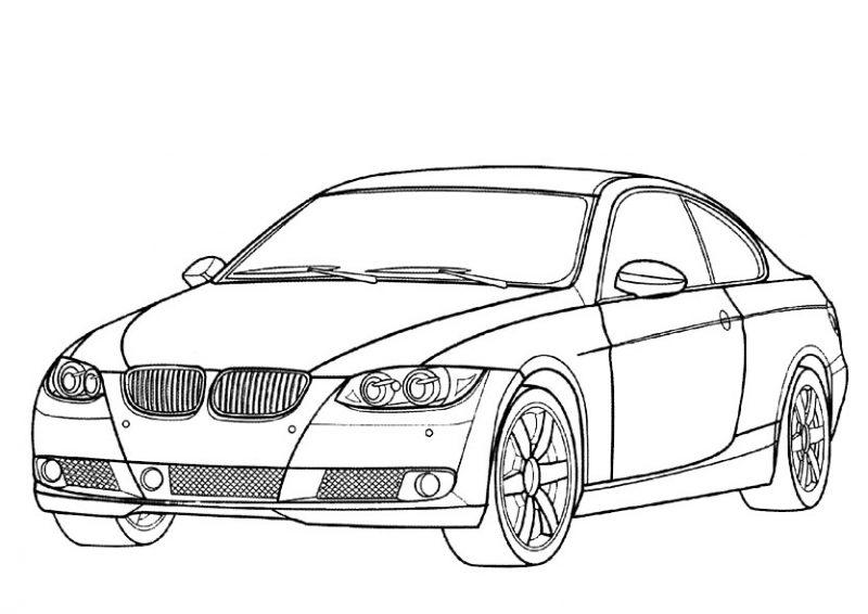 Dibujos Para Descargar Imprimir Y: Dibujos De Vehiculos, Coches Y Carros Para Colorear E Imprimir