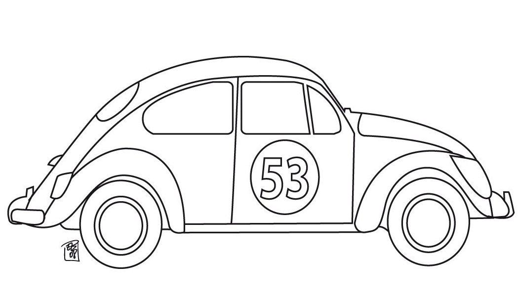 dibujos de vehiculos coches  carros  colorear  imprimir
