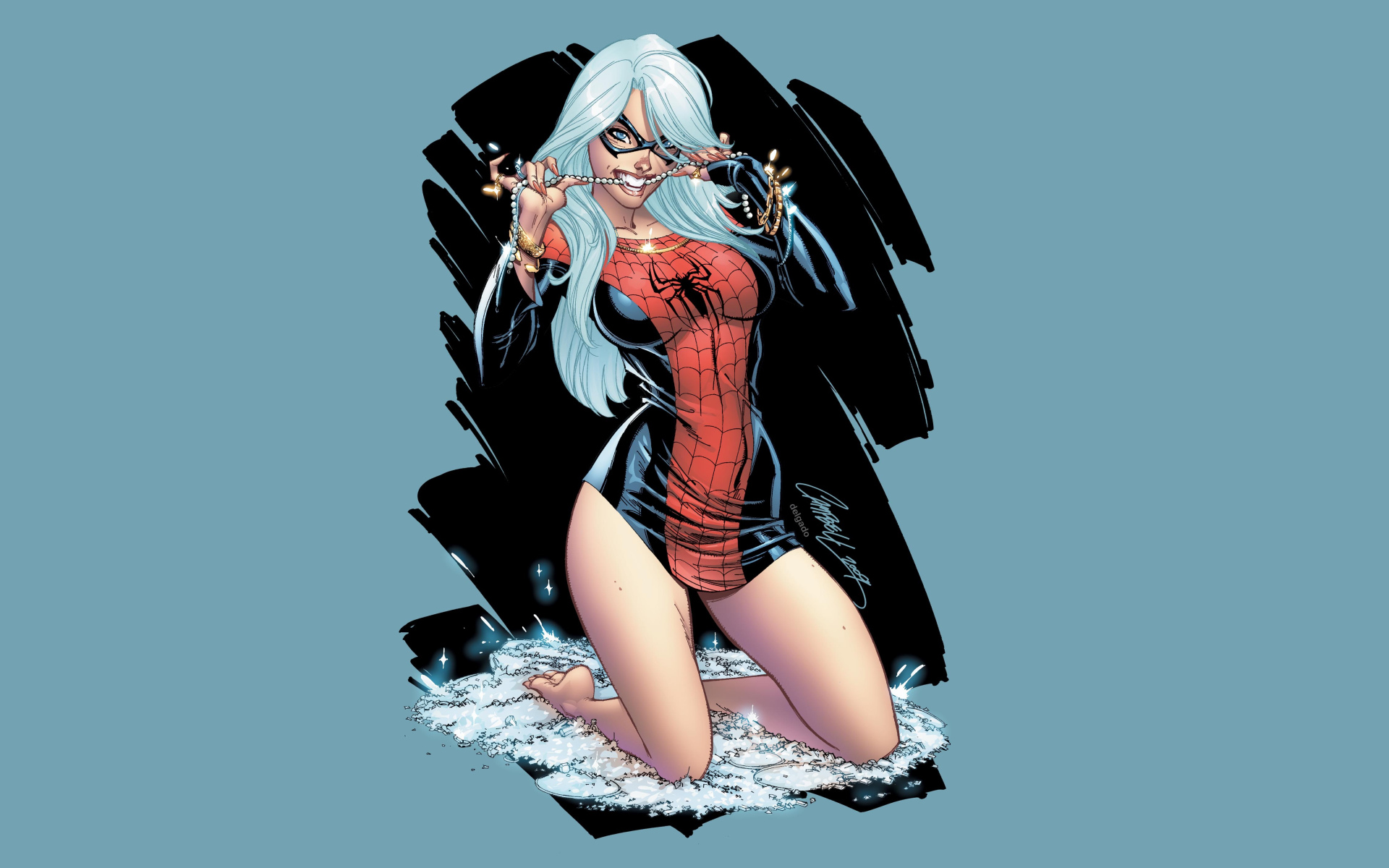 Marvel Black Cat Spiderman Sex