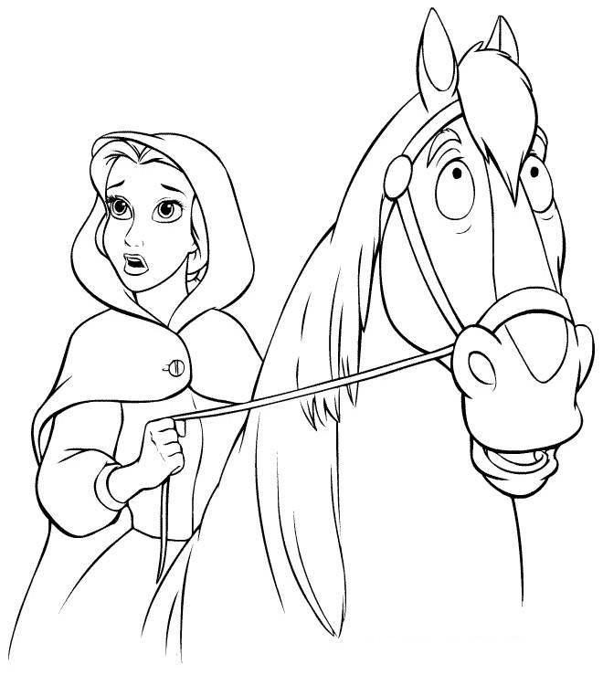 bella-y-su-caballo-disney