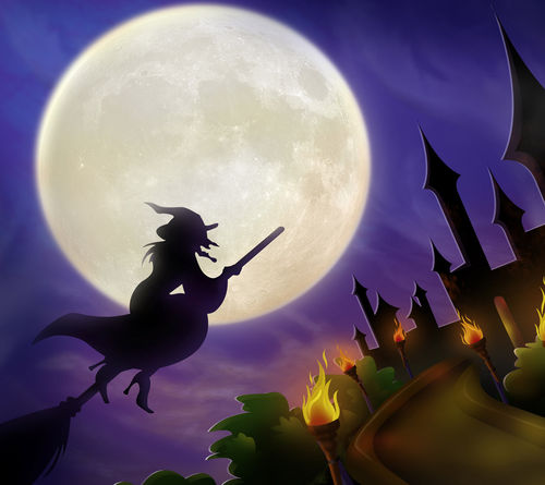bruja-volando-halloween