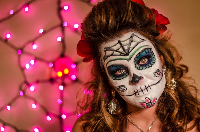 Ideas para maquillarse como la Catrina o Calavera Mexicana ...
