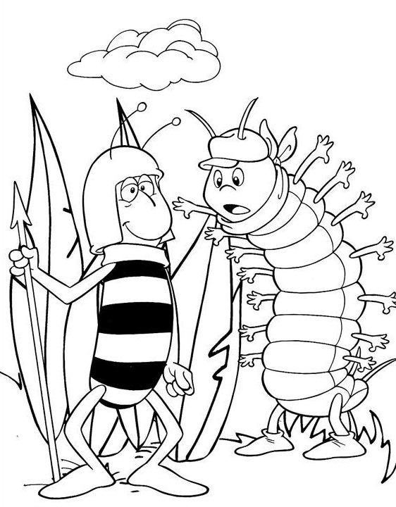 cienpies-la-abeja-maya