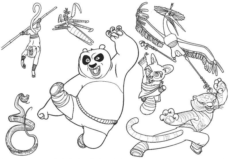 descargar-kung-fu-panda-colorear
