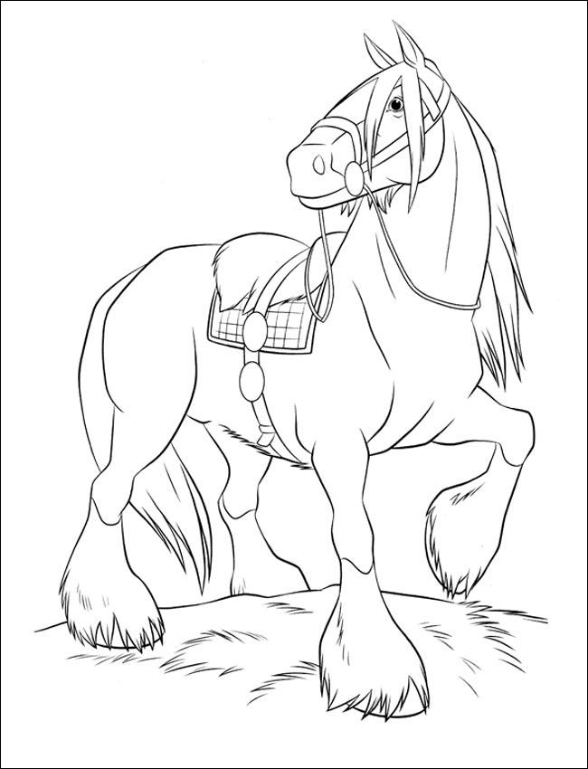 dibujos-caballos-colorear
