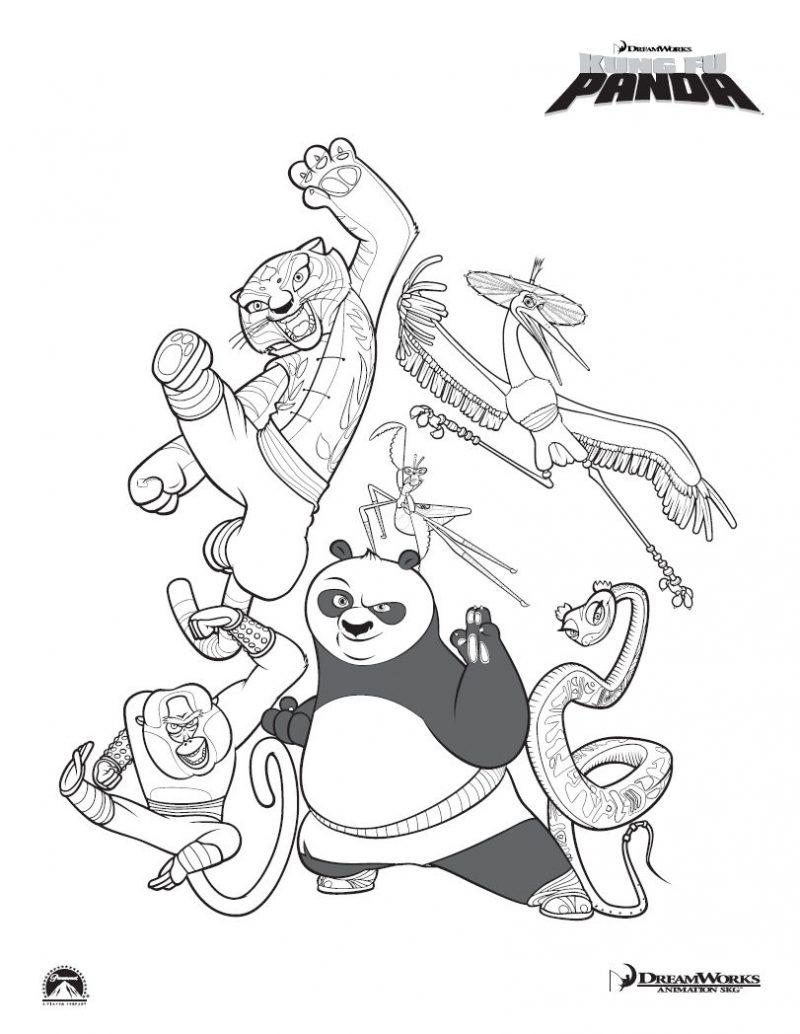 dibujos-kung-fu-panda-para-colorear
