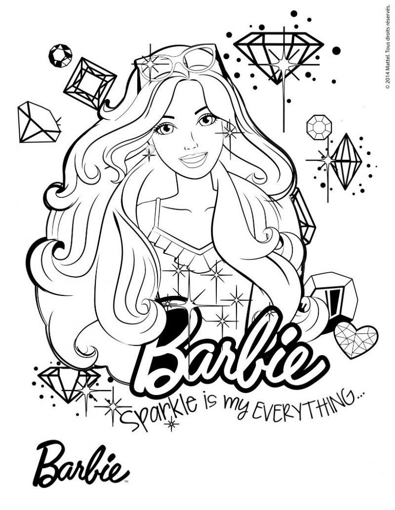 dibujos-para-colorear-de-barbie-1