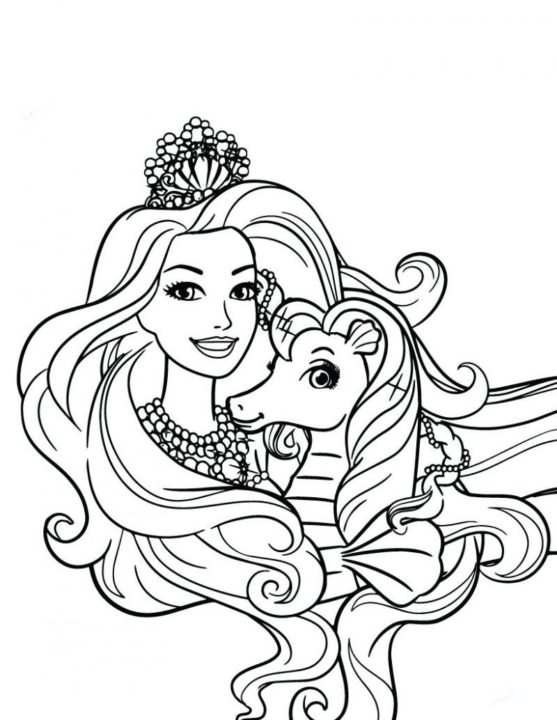 Dibujos de barbie para colorear e imprimir - Dibujos de pared ...