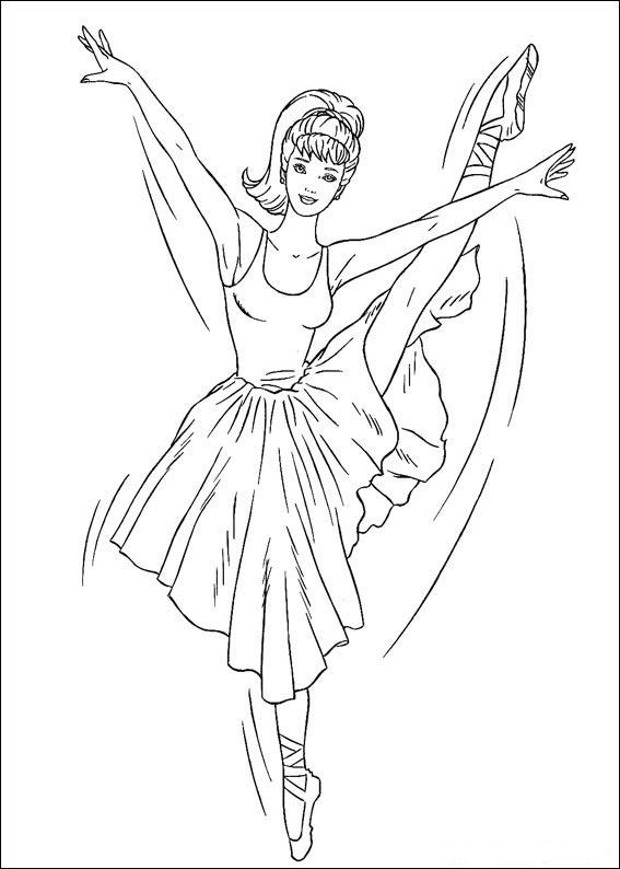 dibujos-para-colorear-de-barbie-9