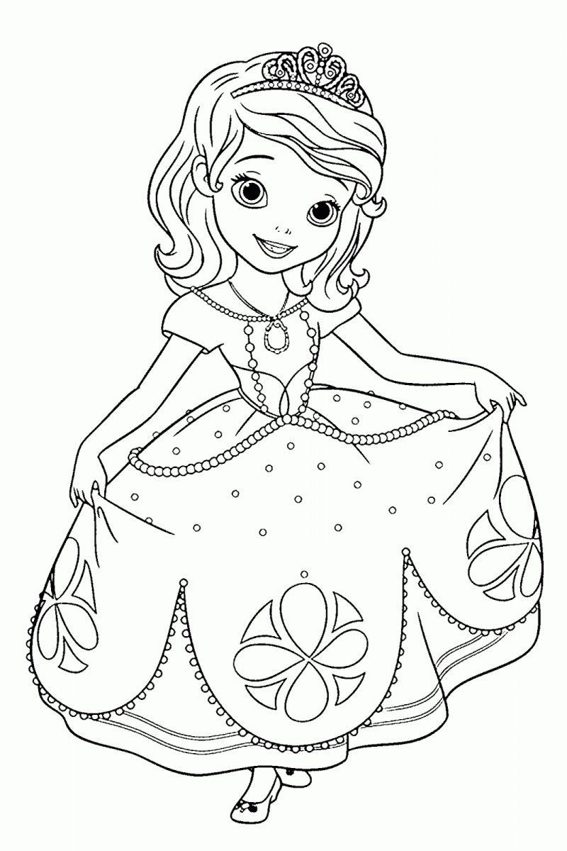 dibujos-para-colorear-de-la-princesa-sofia-disney