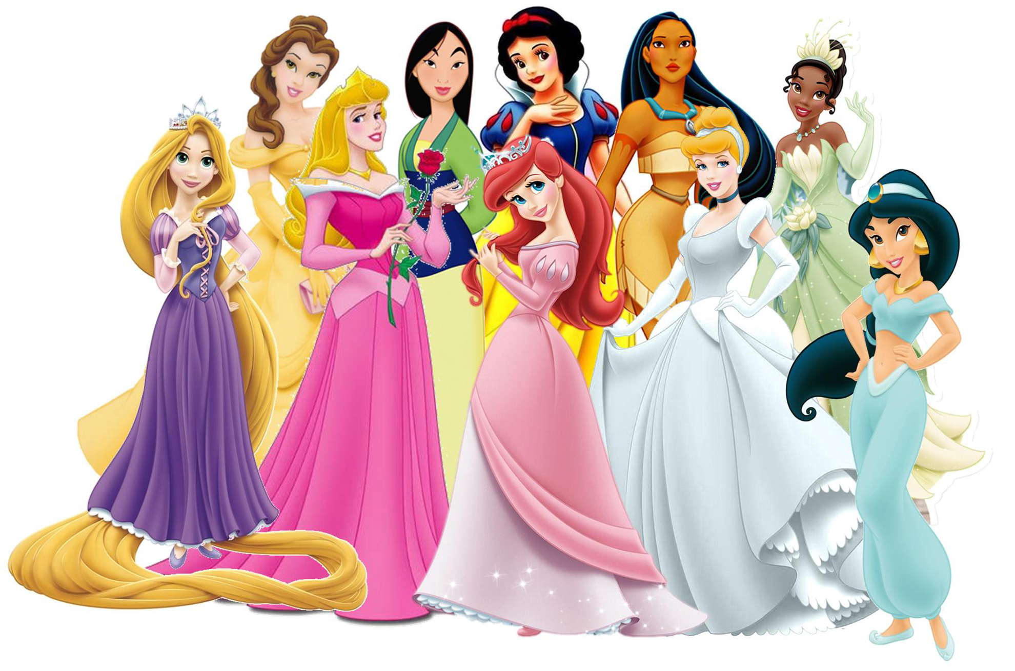 Princesas disney fondos disney princess wallpapers - Female cartoon characters wallpapers ...