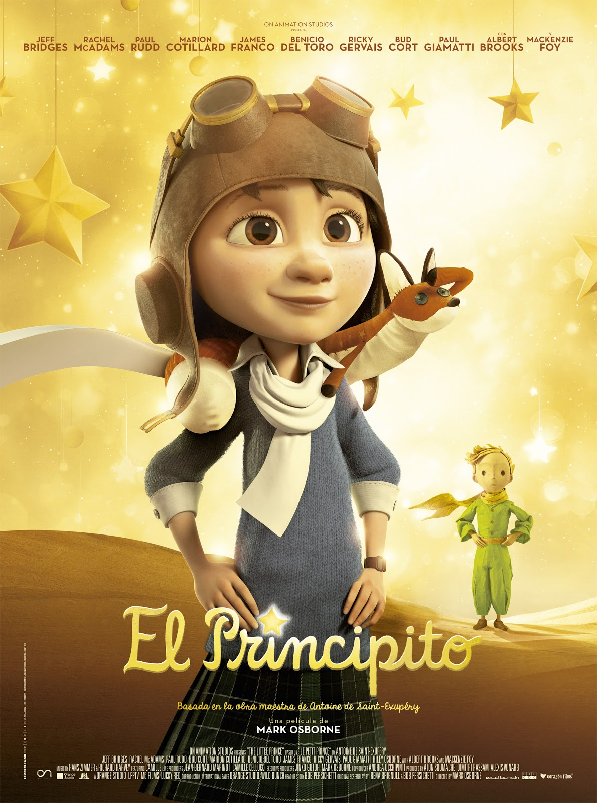 trailer el principito pelicula trailer en espa ol the little prince. Black Bedroom Furniture Sets. Home Design Ideas