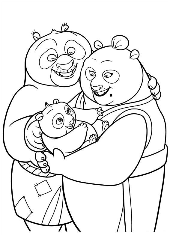 familia-po-kung-fu-panda