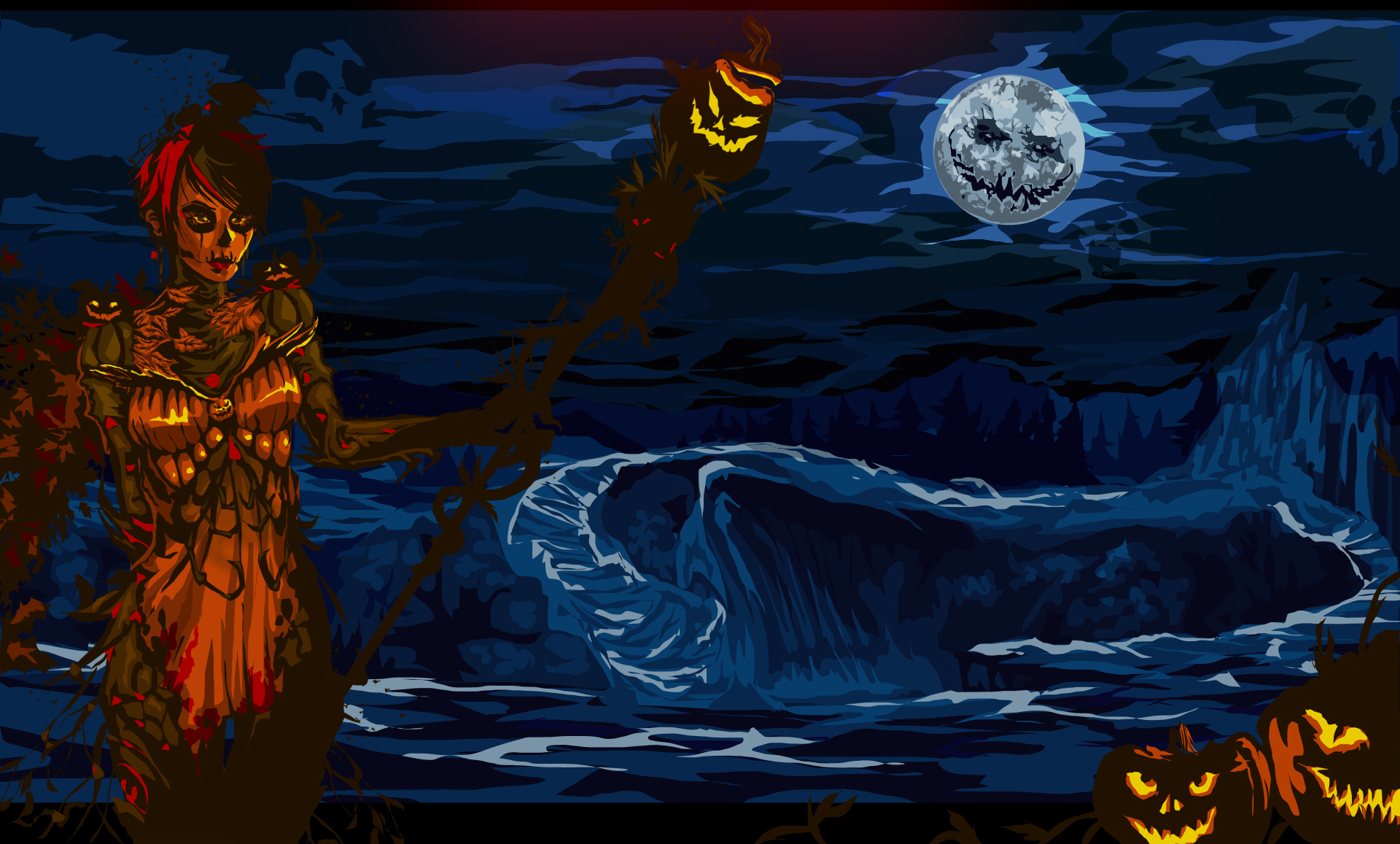 Wallpapers En Hd: Halloween Wallpapers, Halloween Fondos Hd Gratis