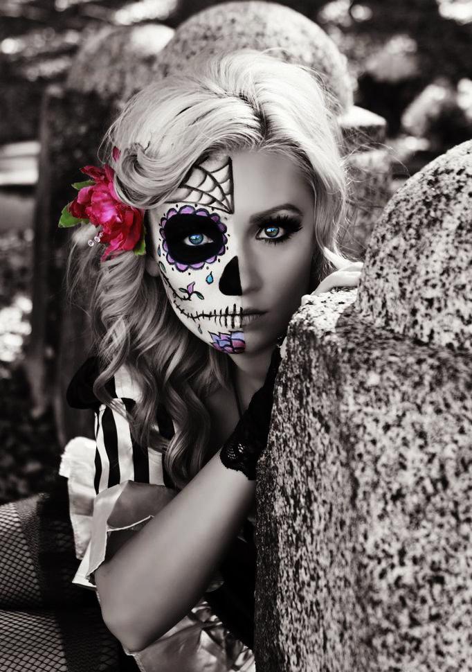 maquillaje-la-catrina-bella-dia-de-muertos
