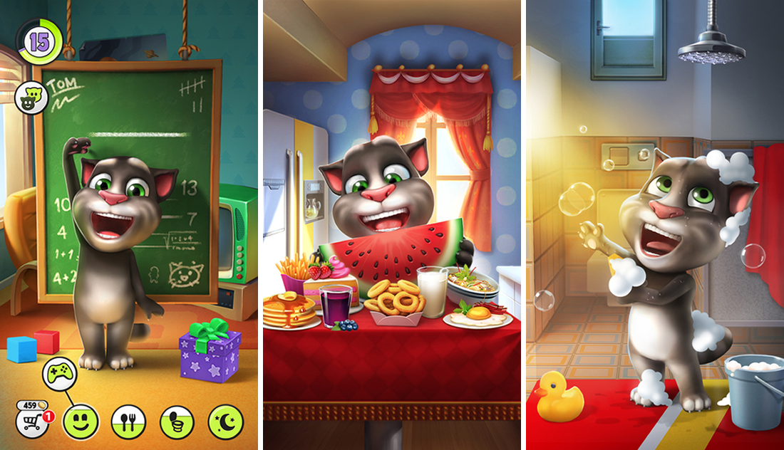 Download My Talking Tom the Cat Game Free for PC | My ...