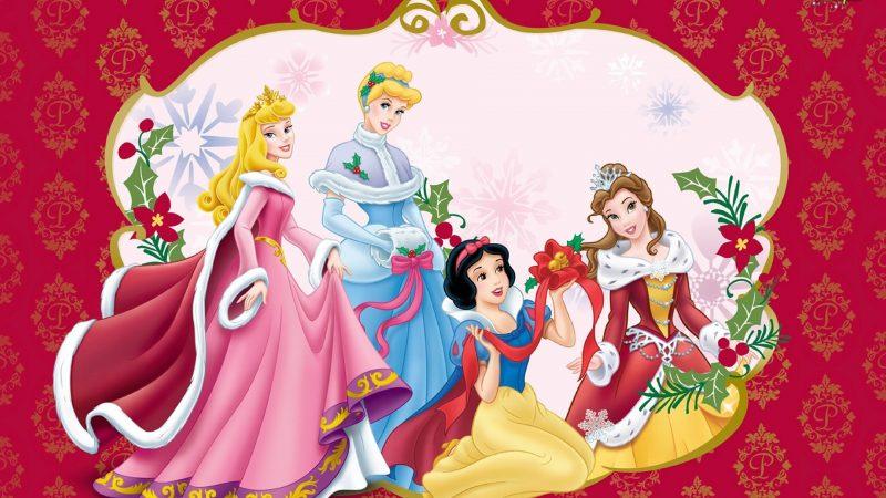 navidad-princesas-disney