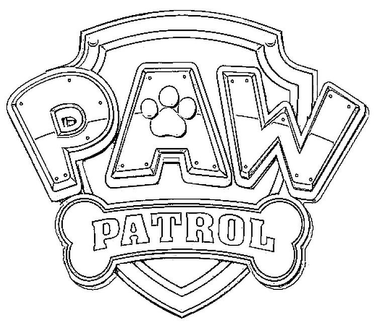 dibujos de la patrulla canina para colorear paw patrol. Black Bedroom Furniture Sets. Home Design Ideas