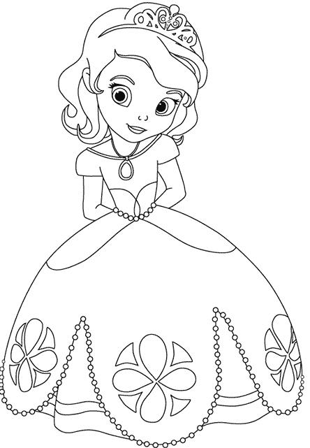 princesa-sofia-colorear