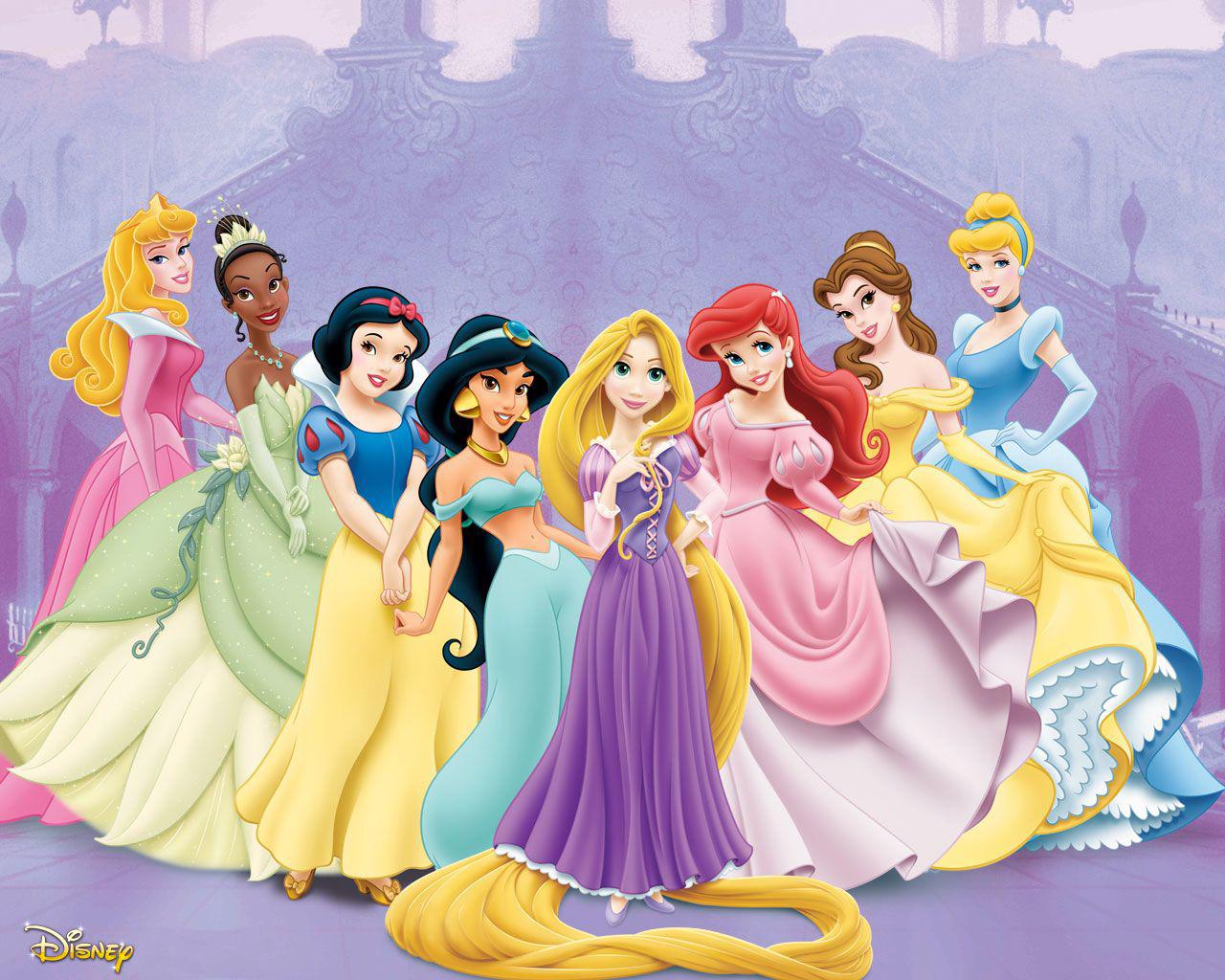 Princesas disney fondos disney princess wallpapers - Image de princesse disney ...