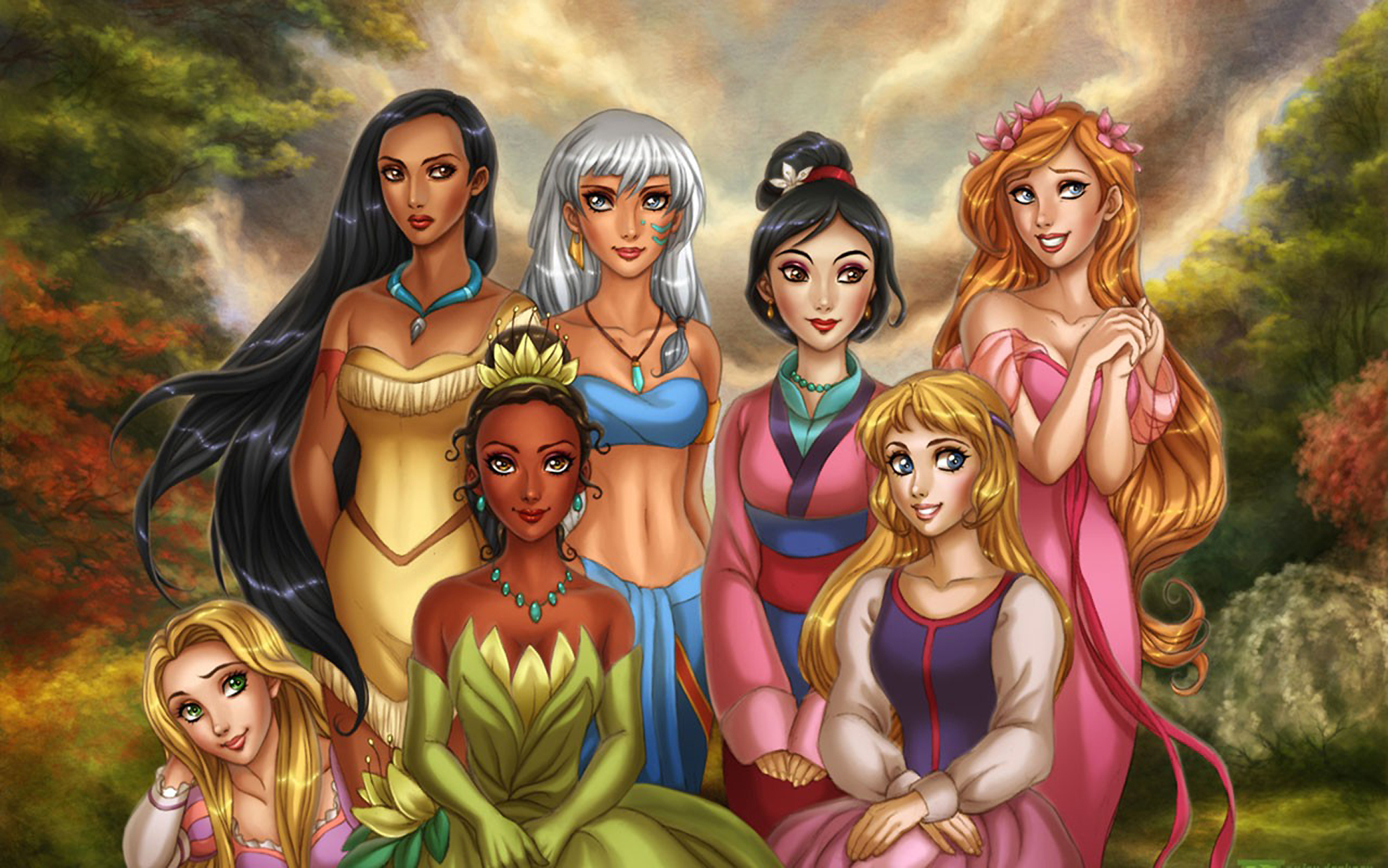 Princesas disney fondos disney princess wallpapers princesas disney reales thecheapjerseys Choice Image