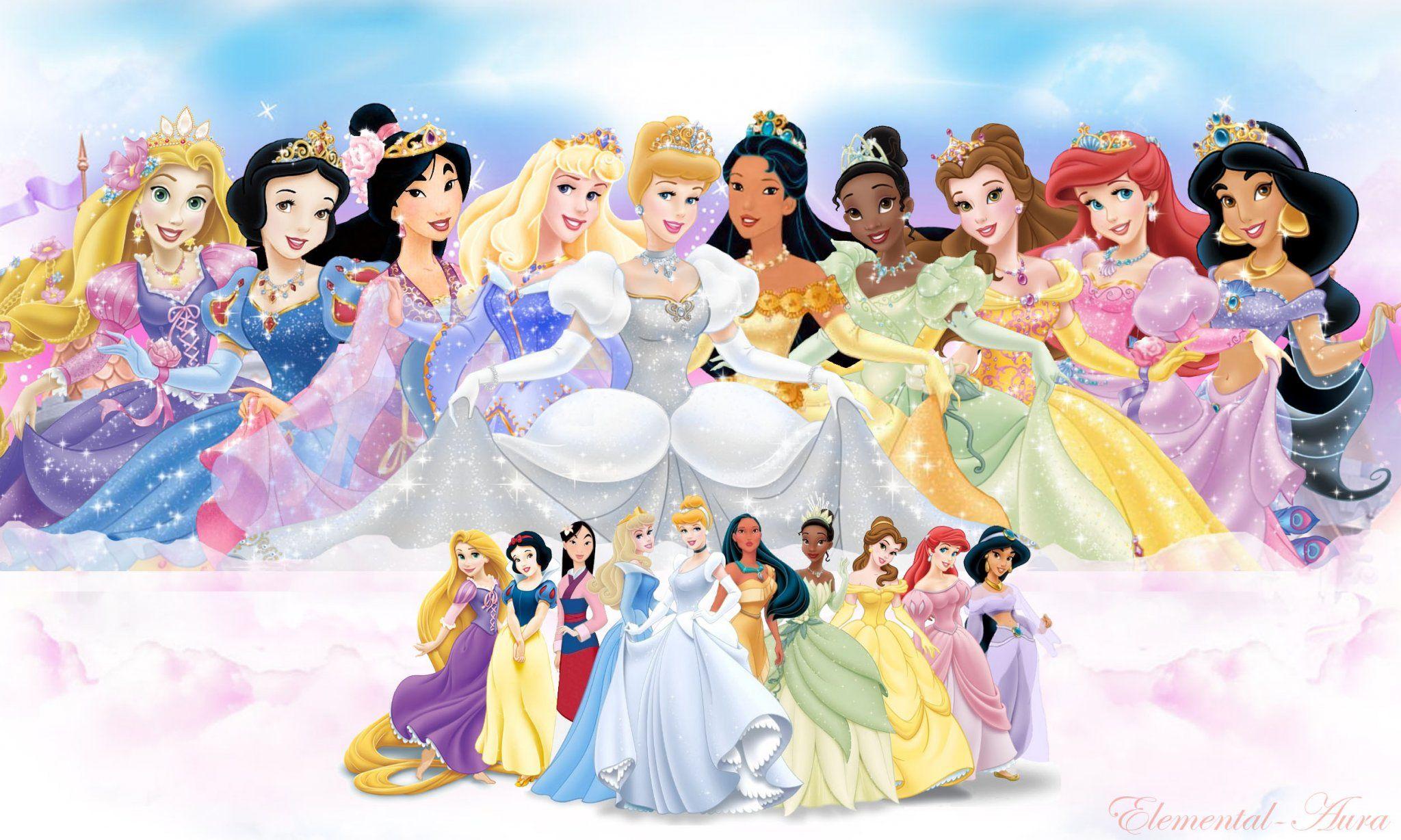 Princesas disney fondos disney princess wallpapers altavistaventures Choice Image
