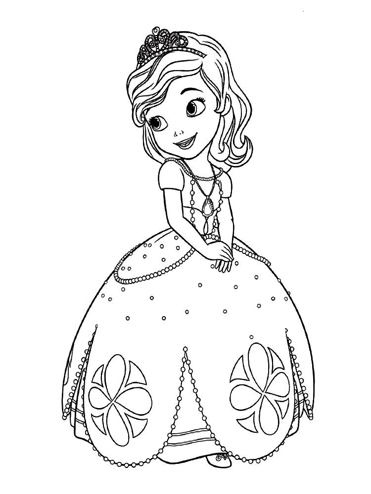 princesita-sofia-disney-colorear