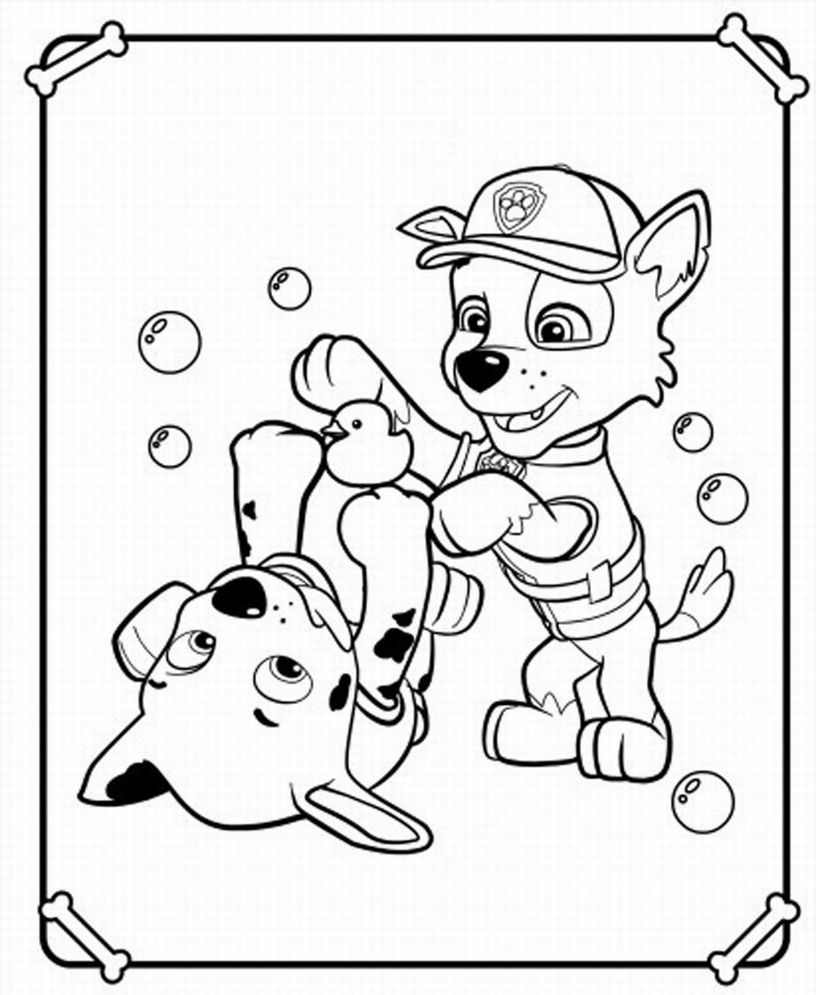 Dibujos de La Patrulla Canina para