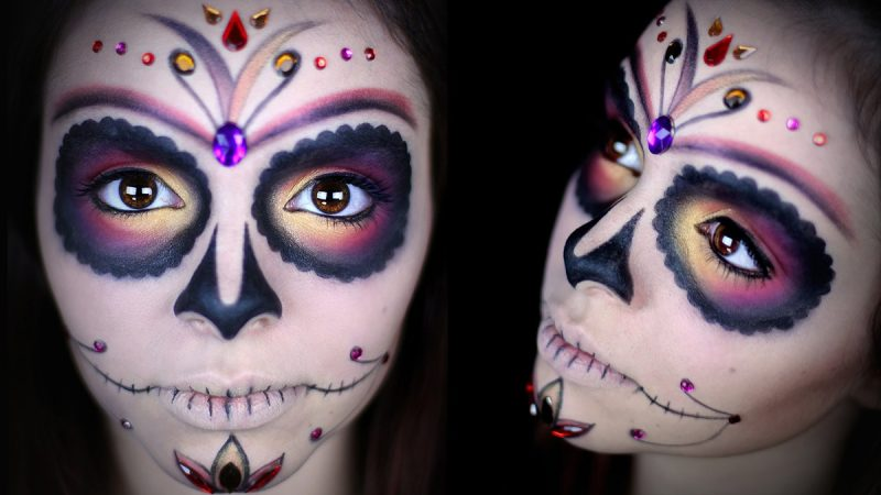 sugar-skull-makeup-halloween