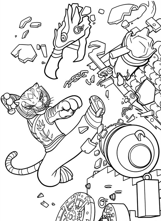 tigresa-luchando-kung-fu-panda