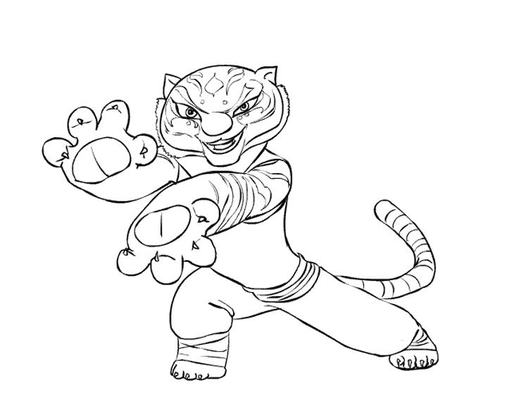 tigresa-para-colorear