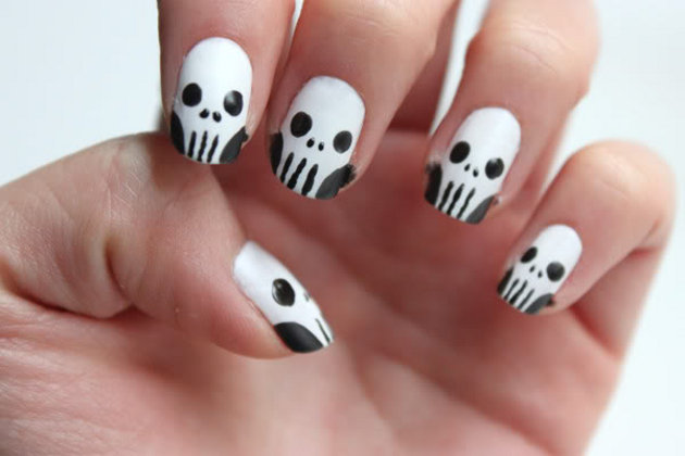 uñas-esqueletos-halloween