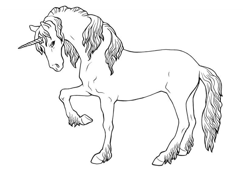 unicornio-para-colorear