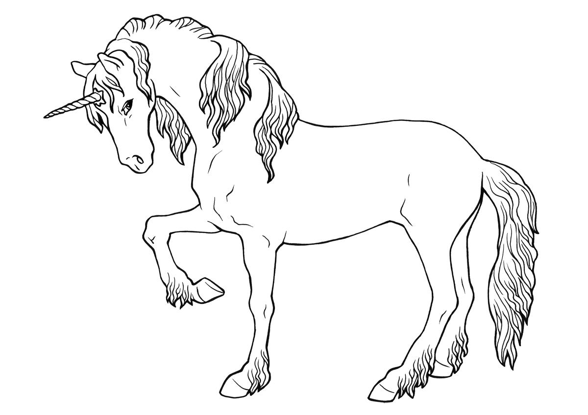 Dibujos de caballos para colorear e imprimir gratis, caballos para ...