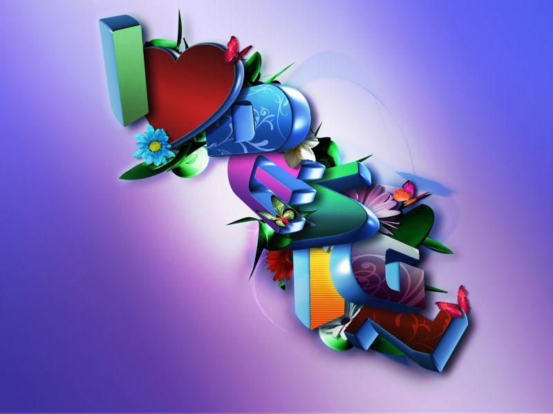 abstract-love-3d-wallpaper