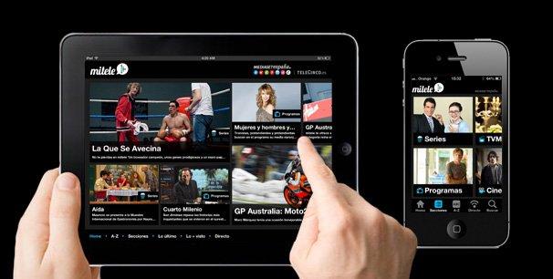 Aplicación de Mitele, para ver la televisión online Gratis