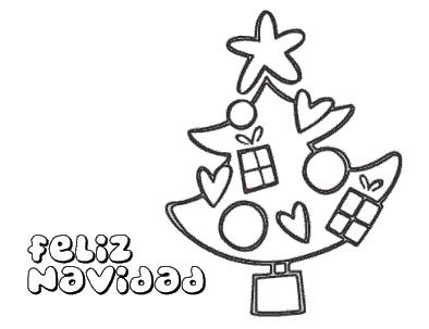 arbol-navidad-para-colorear