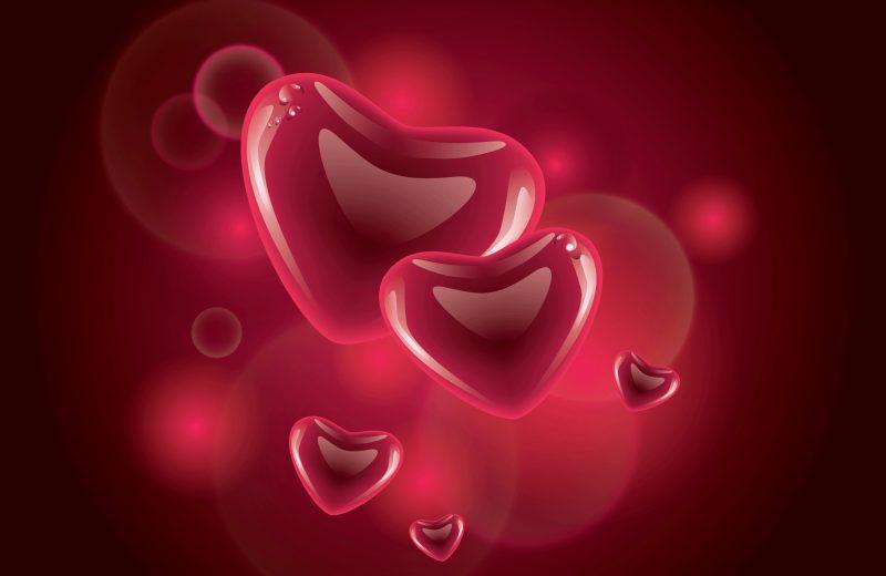 corazones-3d-wallpapers