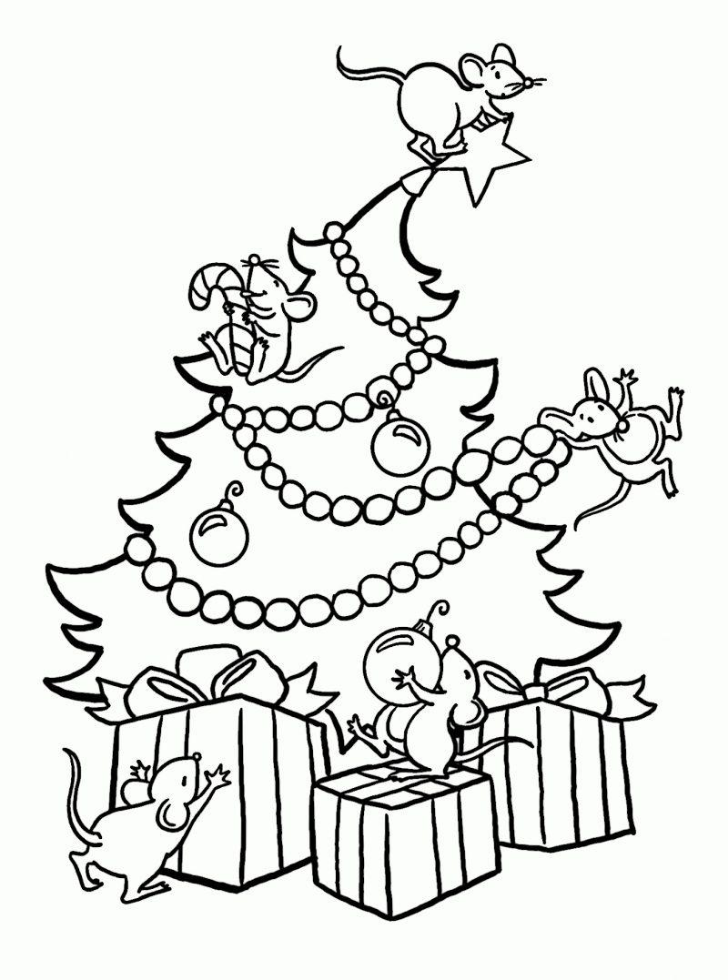 dibujo-arbol-navidad-para-colorear